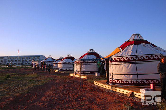 民族风情蒙古包
